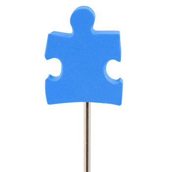 Foam Antenna Topper - Puzzle Piece