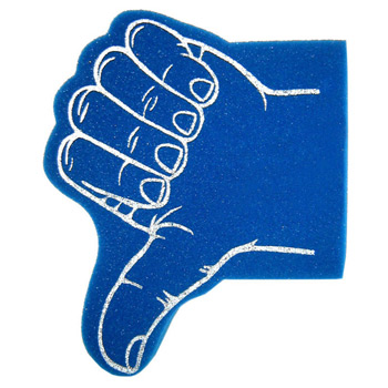 Foam Hand Waver - Thumb